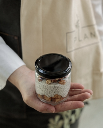 Spiced Apple Chia Pudding