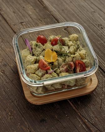 Herb Cheese Potato Salad